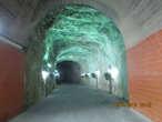 Тоннель, проложенный во времена британского мандата, а ныне часть его превращена в кинотеатр