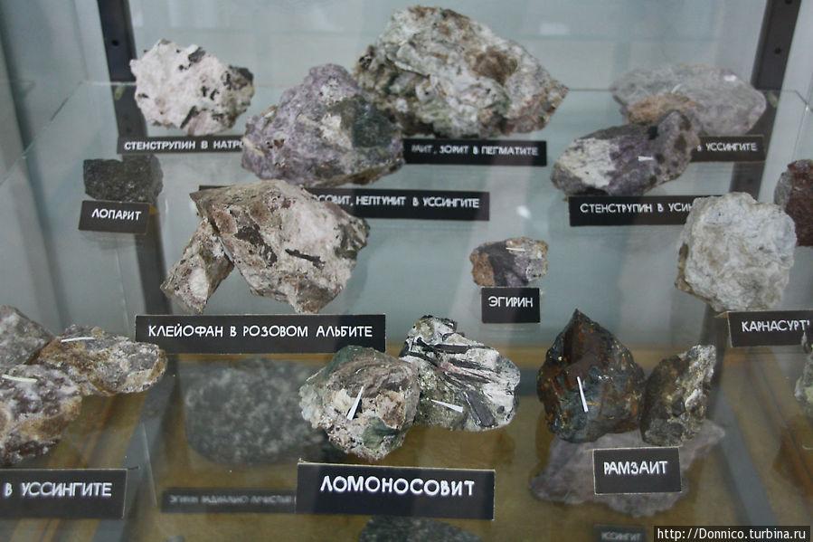 На Кольском полуострове идет активная добыча минералов — железа, никеля, платиновых металлов, редкоземельных металлов, лития, титана, бериллия, строительных и ювелирно-поделочных камней, слюды
