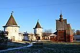 Георгиевская церковь и монастырский двор