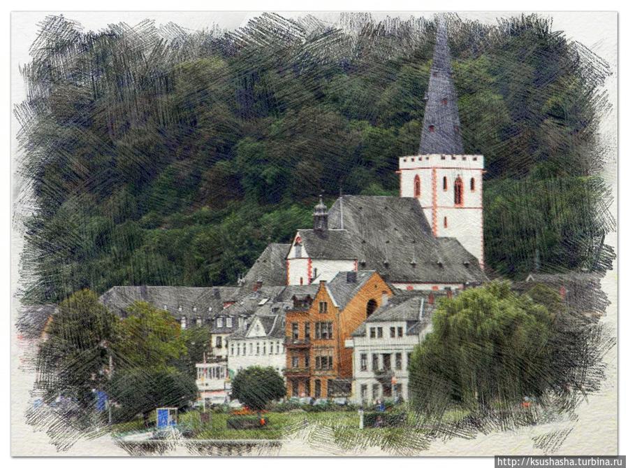 Рейн в рисунках и воспоминаниях Земля Рейнланд-Пфальц, Германия
