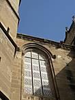 Готические окна собора.