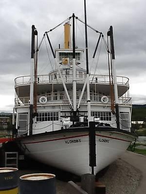 Легендарный пароход Клондайк, надежда старателей