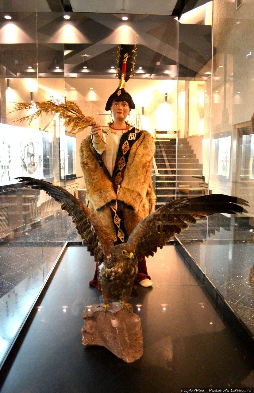 Музей достойный внимания.  Часть 3.  Принцесса Укок