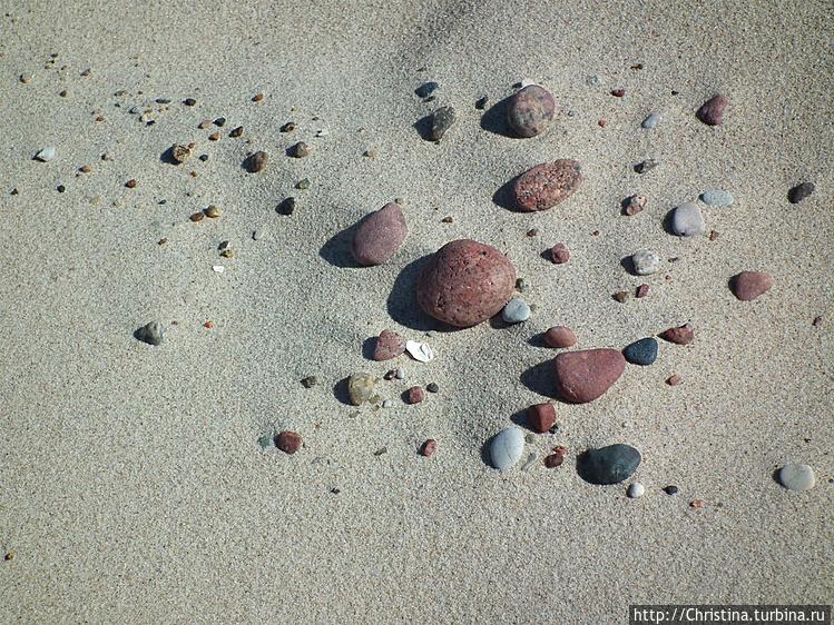 Песочно-камешковый натюрм