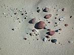 Песочно-камешковый натюрморт