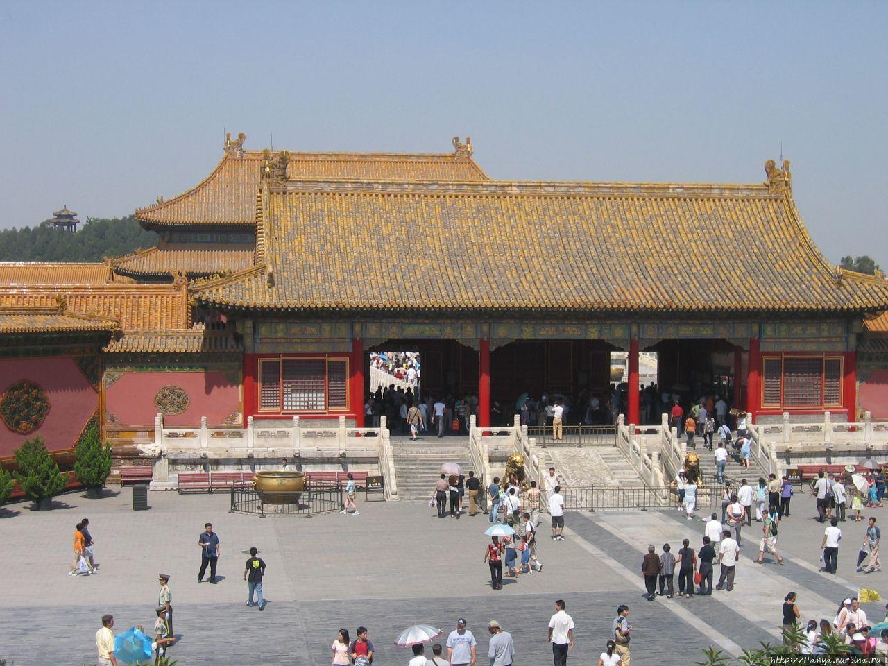 Пекин. Гугун. Ворота Небе