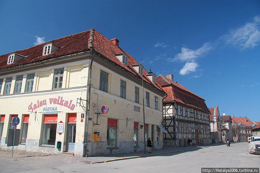 Кулдига. Старый город.