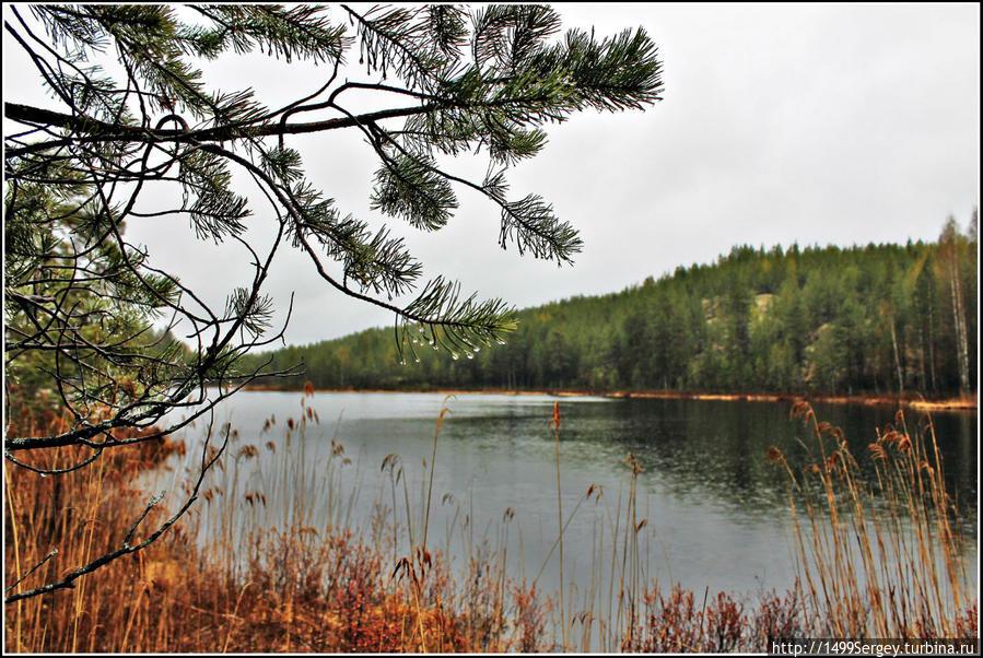 Камень Куммакиви (Kummakivi) Провинция Южная Карелия, Финляндия