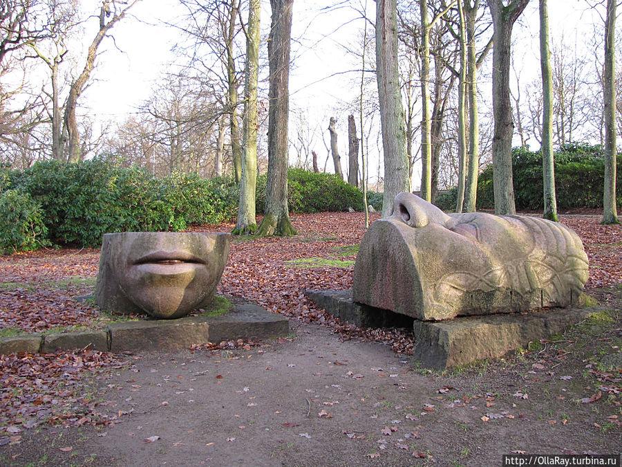 Скульптуры в парке Софиеро
