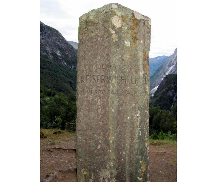 Камень Wilhelmshoi. Устан