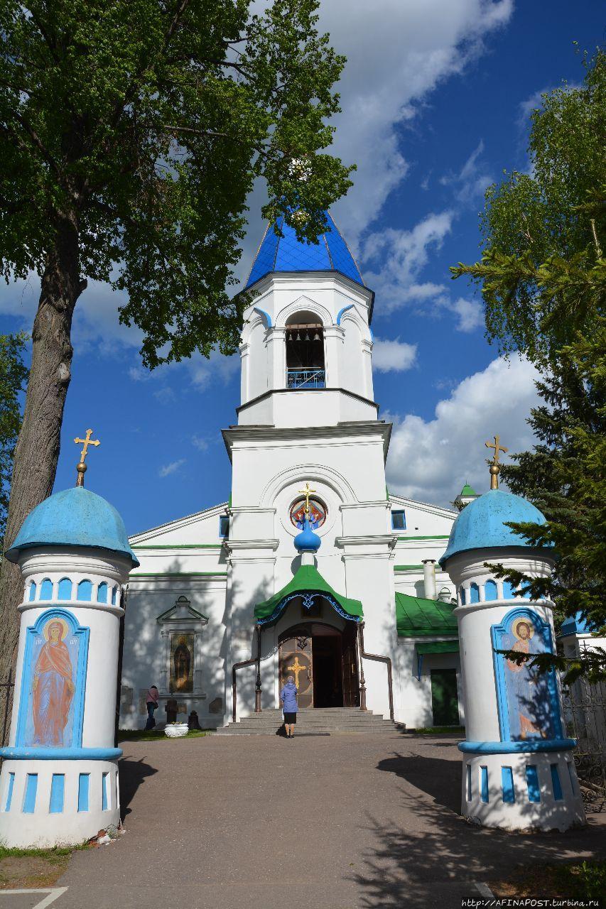 Волоколамск. Рождественская церковь в Возмищах