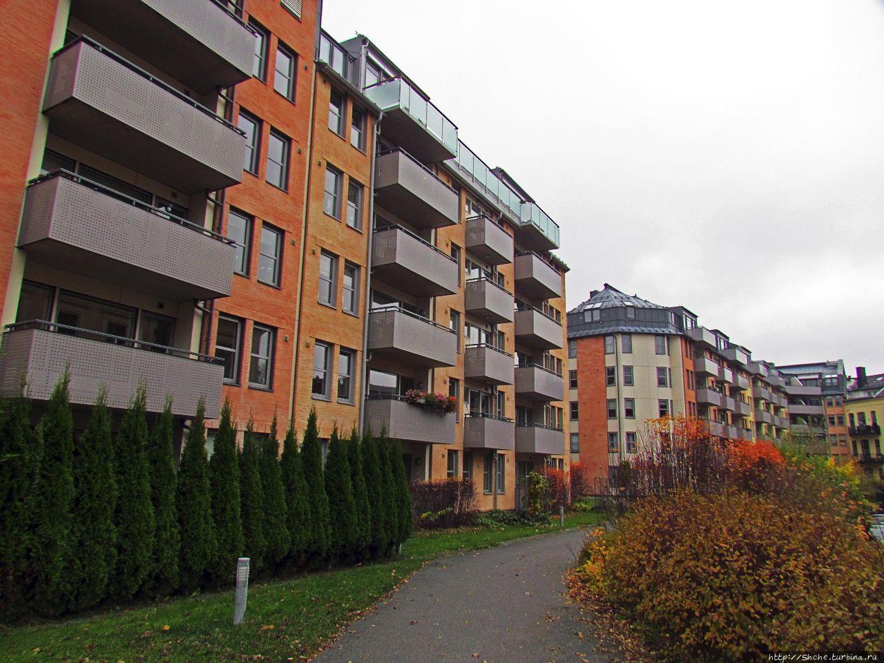 район Фрогнер Осло, Норвегия
