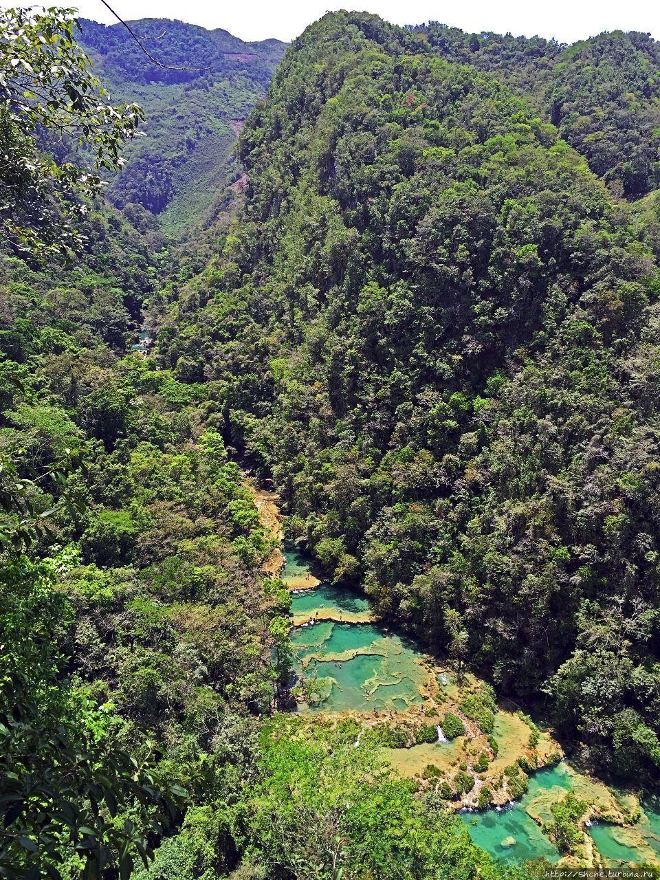 Каскады Semuc Champey — самое фотогеничное место Гватемалы