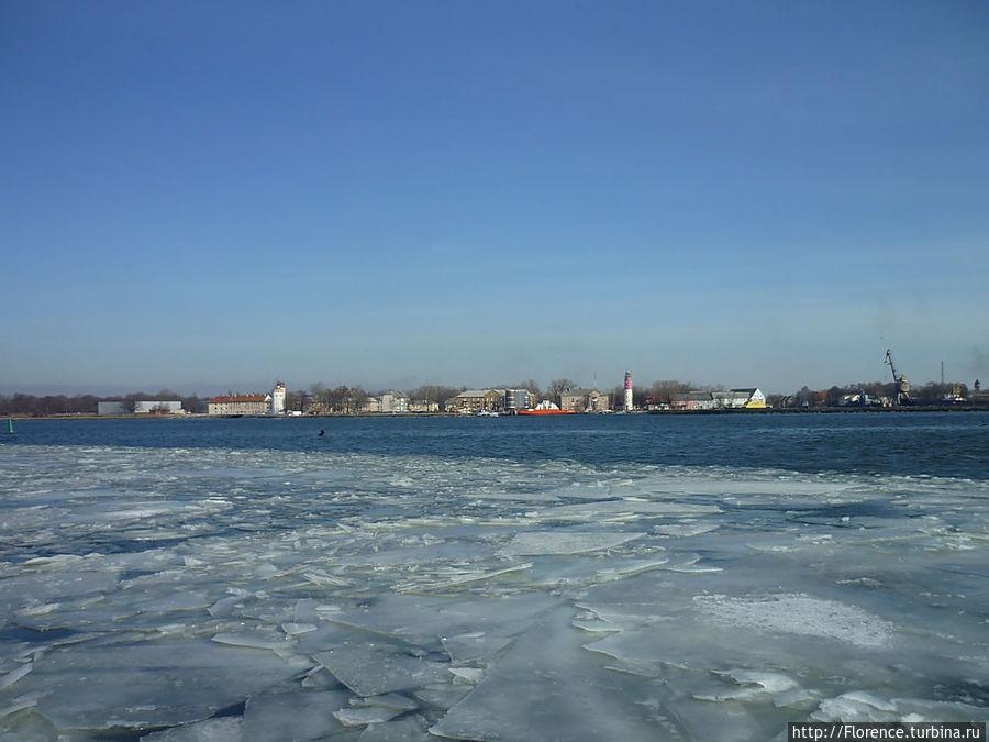 Вид на Балтийск с косы