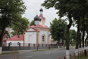 За исключением костела и этой церкви Святого Николая.