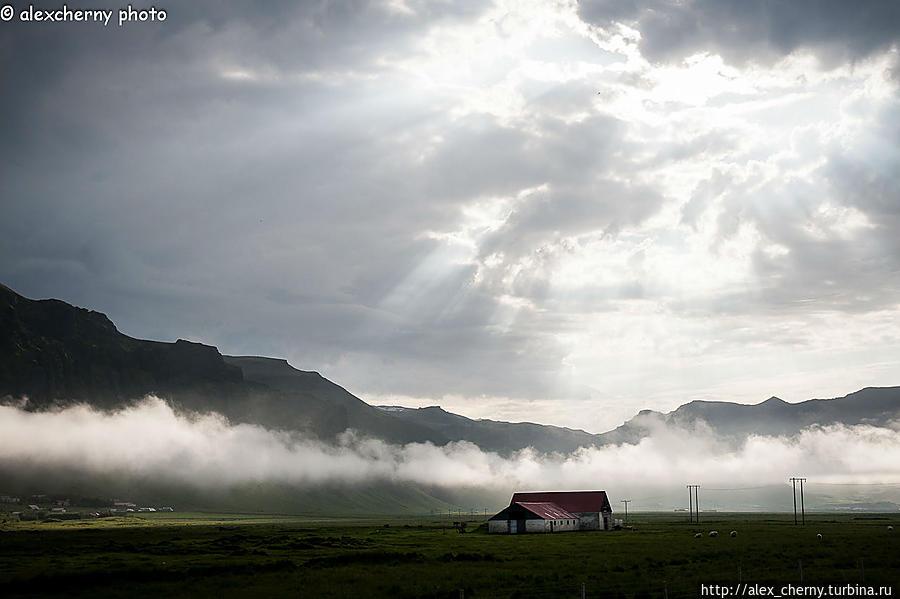 Исландия день второй. Дорога к лагуне Исландия