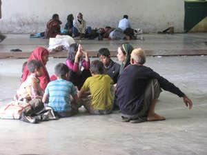 На вокзале. Аджмер, Раджастан, Индия