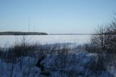 Замерзший Выборгский залив