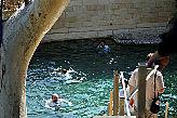Радоновые  ванны  на  территории  церкви.