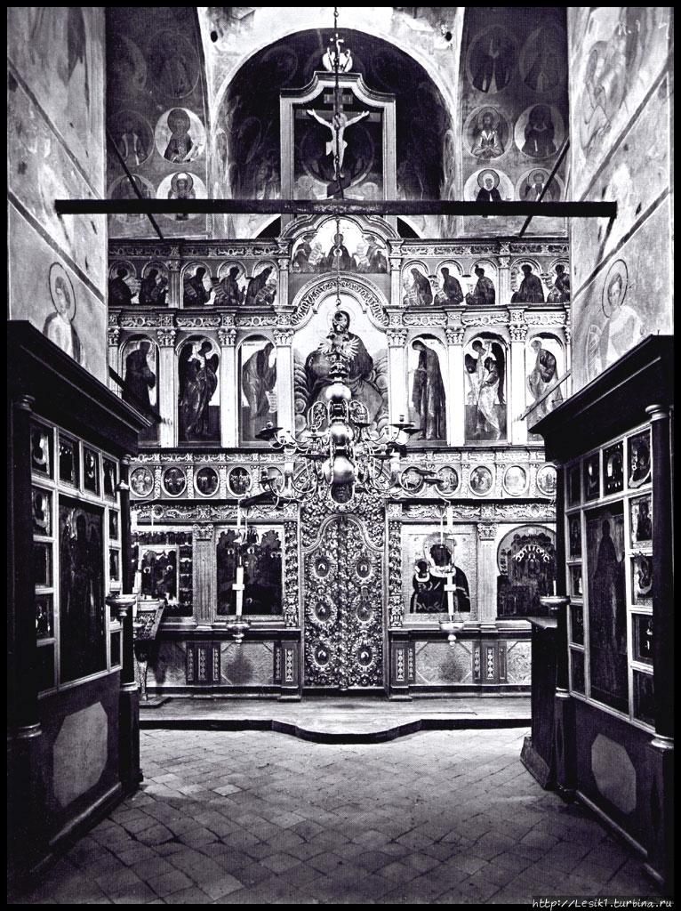 Иконостас собора Рождеств