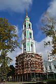 Восстановленная колокольня в память героев отечественной войны 1812 года.