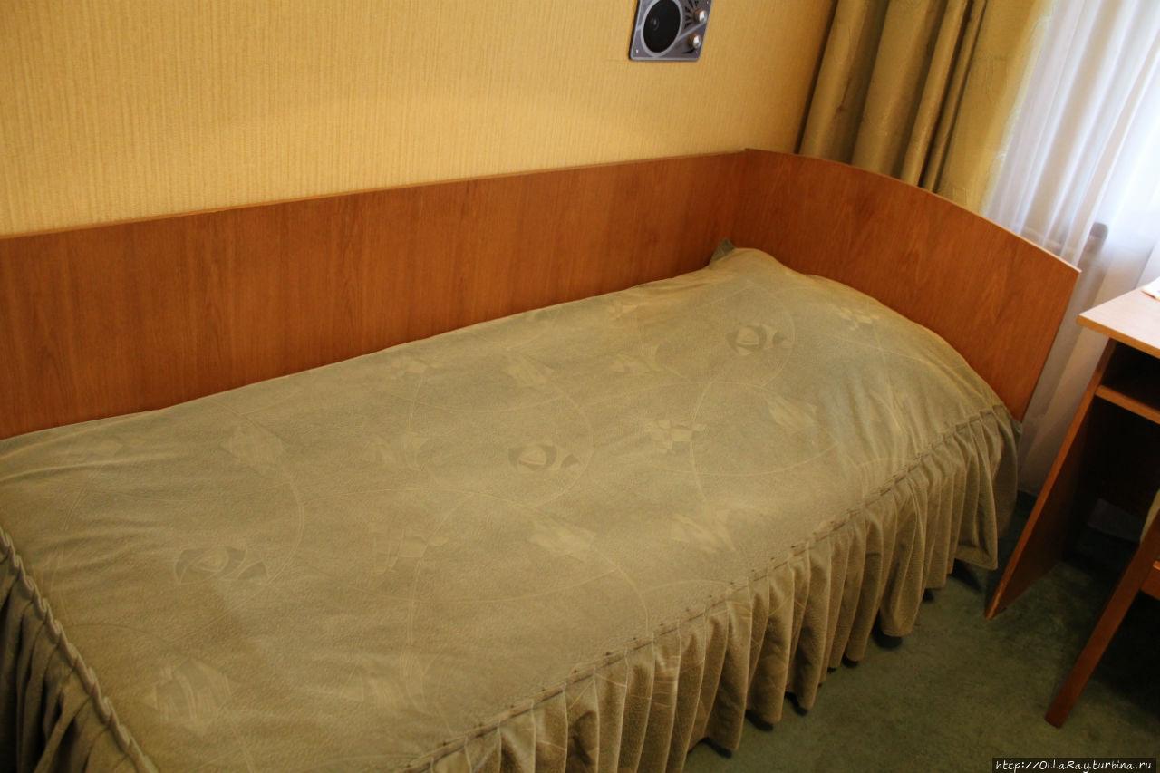 Двухместный номер. Кровать