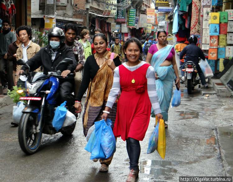 Реальная жизнь Катманду.