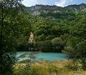 Минеральное озеро в Алагирском ущелье