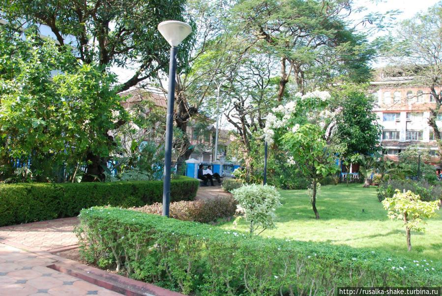 Парк Гарсия Де Орта Панаджи, Индия