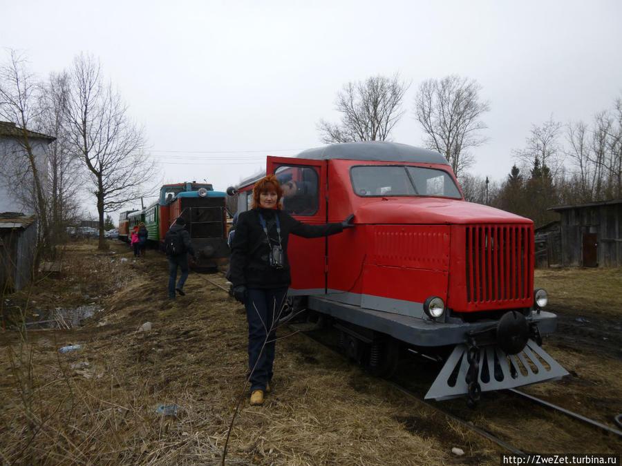 Дрезина МД-1 Тёсово-Нетыльский, Россия