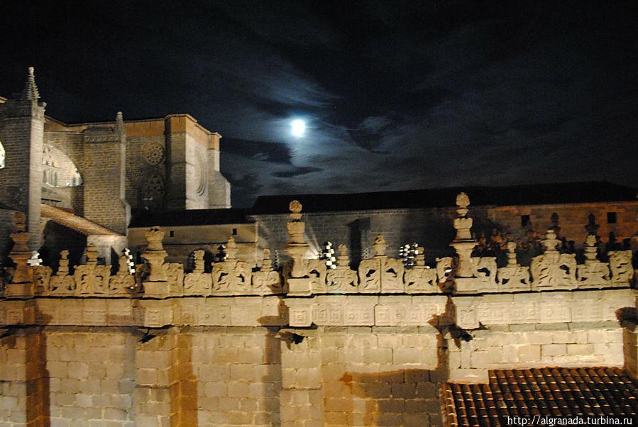 Вид из окна отеля Вальдеррабанос