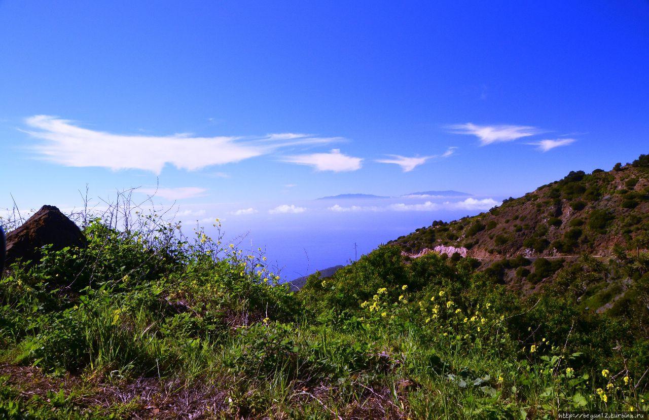 Вид на остров Ла-Пальма