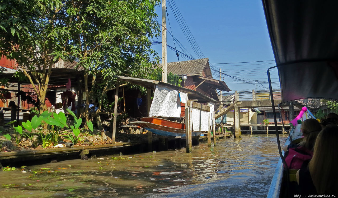 По каналам тайской Венеции — плавучая деревня-рынок Дамноен Садуак (плавучий рынок), Таиланд