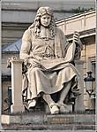 Вот так на гвоздях — сидит Жан-Батист Кольбер — знаменитый французский государственный деятель, сын зажиточного купца из Реймса. Он некогда сделал быструю карьеру, став в 1665 г. генеральным контролером финансов. Его заслуга — основание трех королевских академий: наук, музыки и архитектуры... *