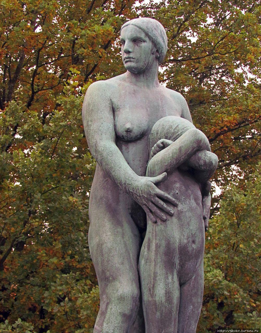 Парк скульптур Вигеланда Осло, Норвегия