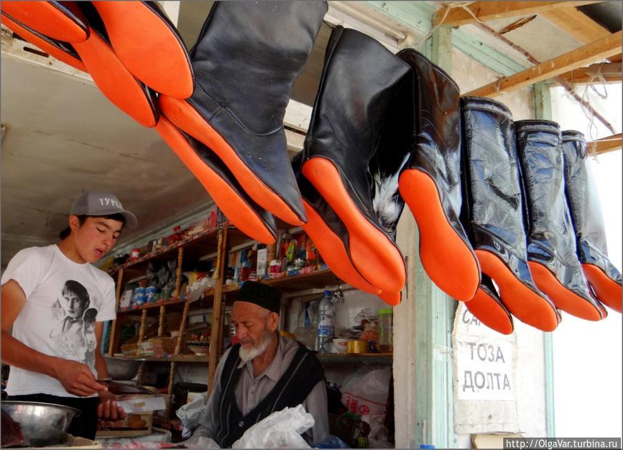 Самый ходовой товар Арсланбоб, Киргизия