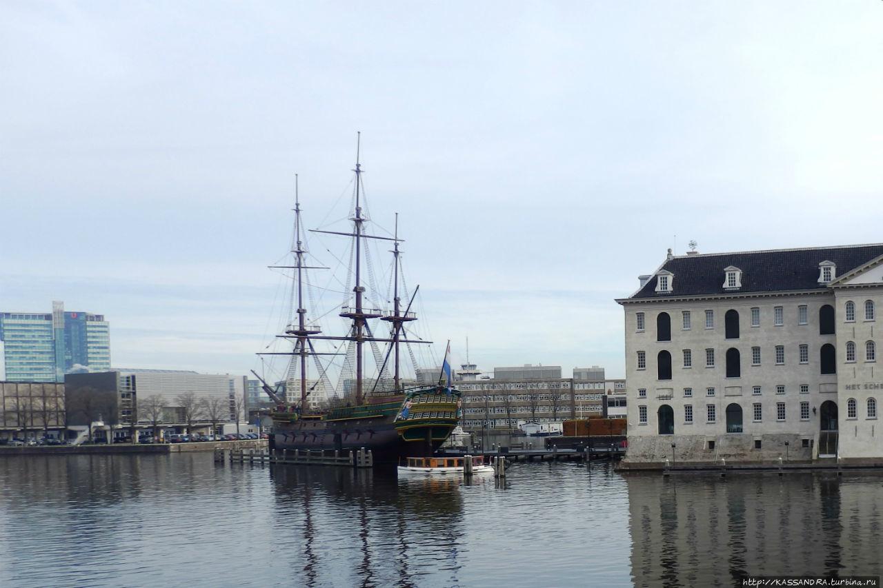 Морской квартал Амстердама. Остердок