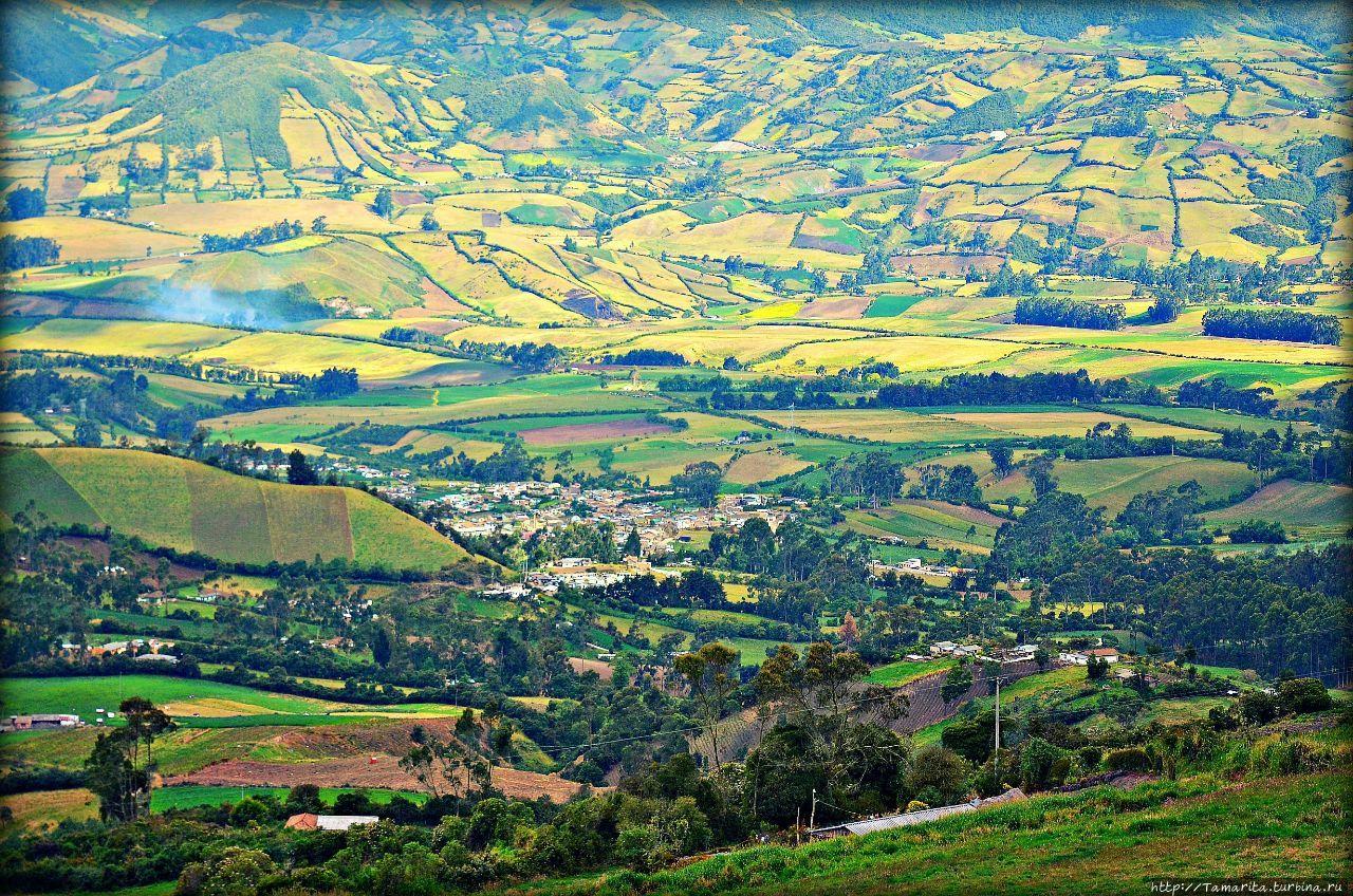 Колумбийская мозаика, или взгляд из-под небес Пасто, Колумбия