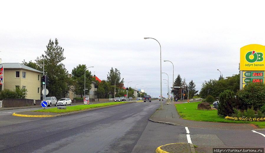 Все исландские дороги в прекрасном состоянии