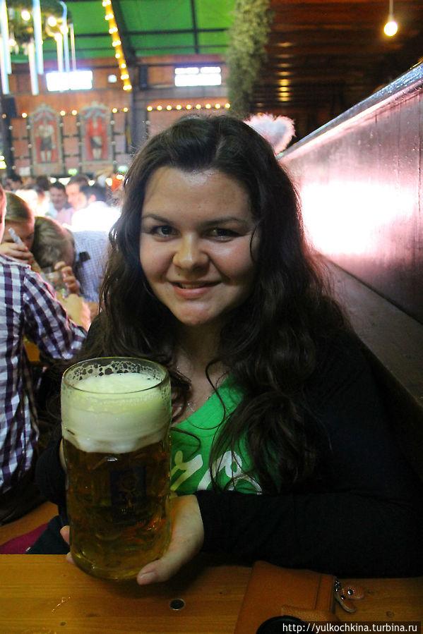 вкуснейшее пиво и я