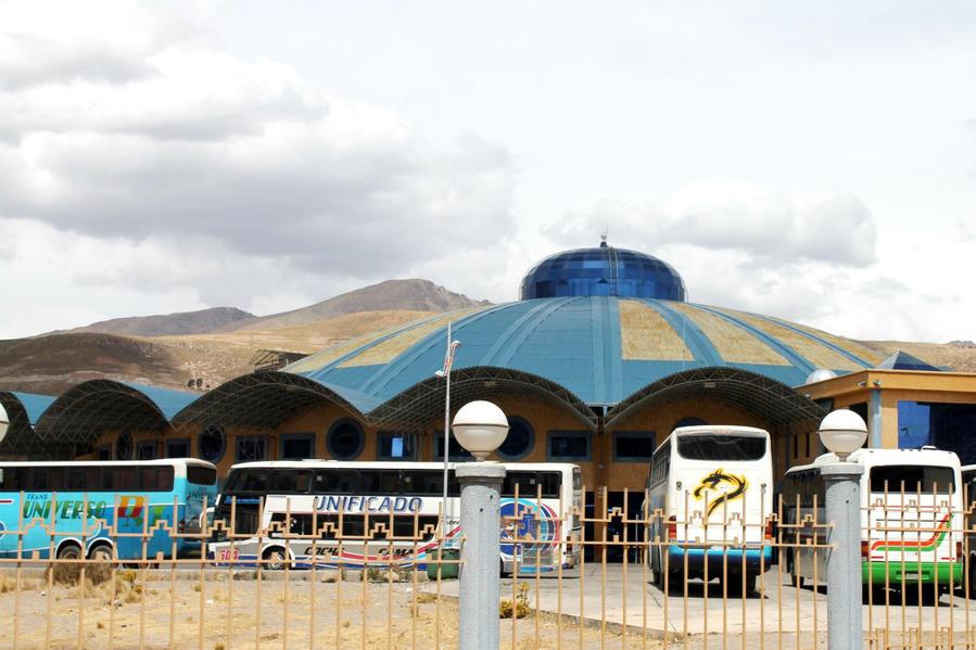 Общий вид автовокзала Потоси