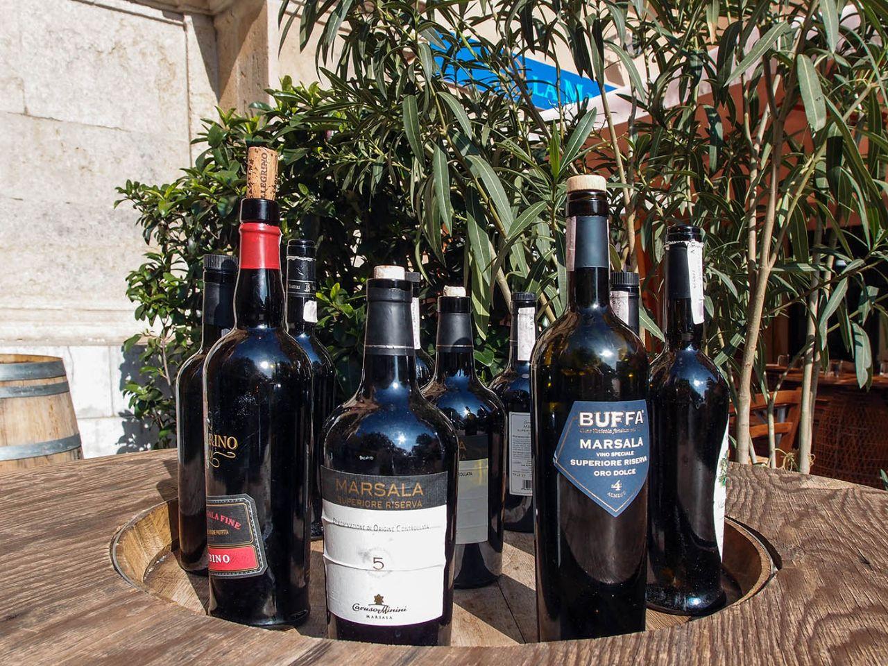 Вино и соль Марсалы