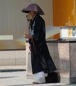 Японский  монах. Привлекла внимание его  поза и аккуратность  в одежде.