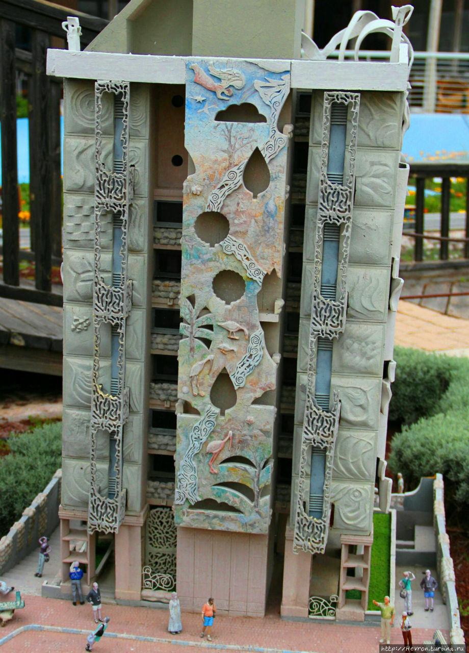 макет из парка Мини-Израиль