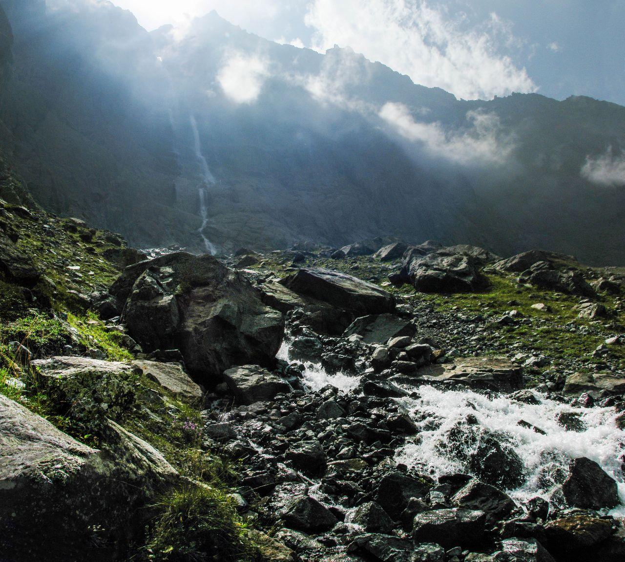 Мидаграбинские водопады. Большой Зейгелан Мидаграбинские водопады, Россия