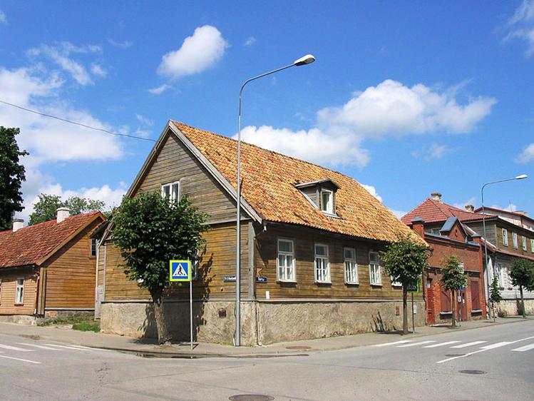 Старинные здания в центре