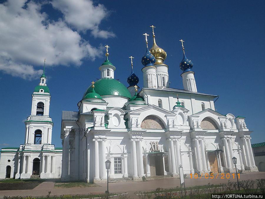 храма Зачатия св. Анны середины XIX в. ,колокольня
