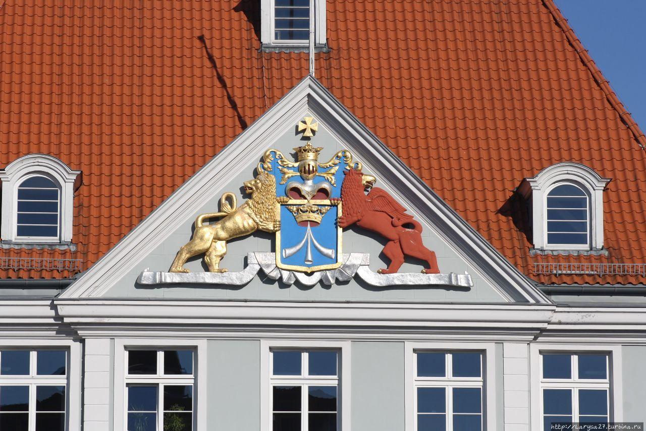 Герб Шведской Померании н