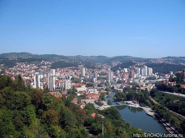 Город Ужице. Фото из инте