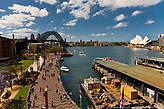 Визитная карточка Сиднея, опера  и мост в гавани